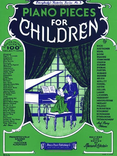 9780825620034: Piano Pieces for Children: Everybody's Favorite Series No. 3