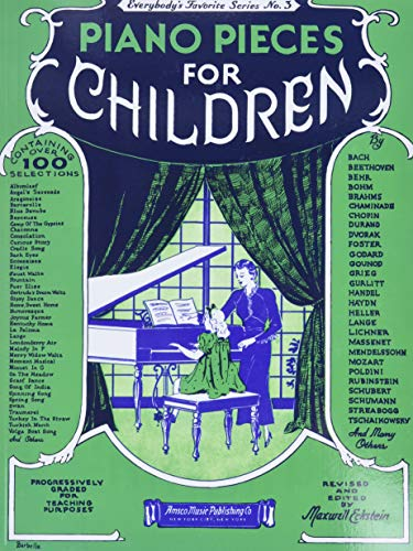 9780825620034: Piano Pieces for Children (Everybody's Favorite Series, No. 3)
