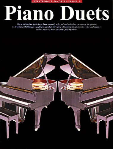 Everybody's Favorite Piano Duets (Paperback): Ed Echstein