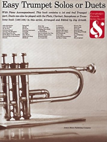 Easy Trumpet Solos Or Duets: (EFS 105): Jay Arnold