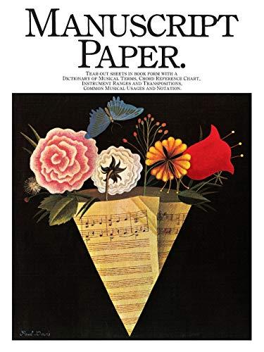 9780825621178: Manuscript Paper