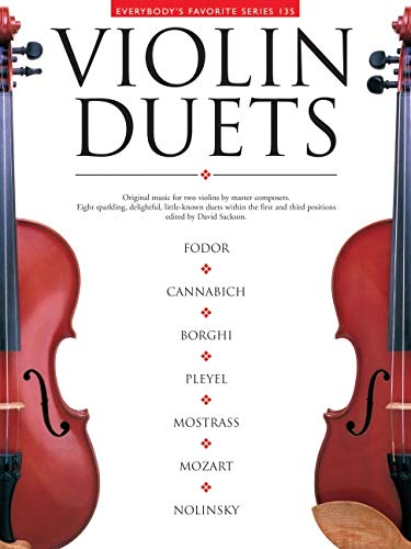9780825621352: Violin Duets: Everybody's Favorite Series Volume 135