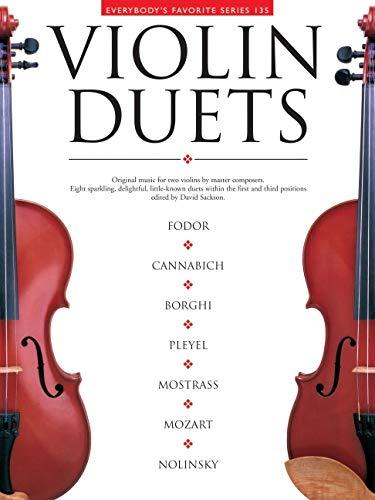 9780825621352: Violin Duets: Everybody's Favorite Series Volume 135