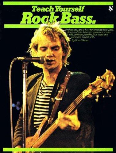 9780825622021: Teach Yourself Rock Bass