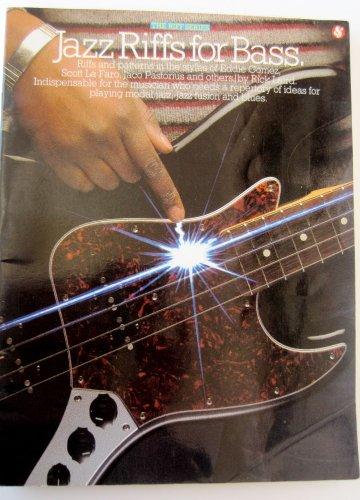 9780825622052: Jazz Riffs for Bass