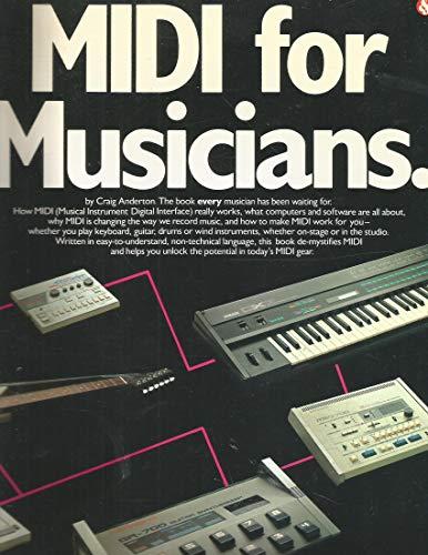 9780825622144: Midi for Musicians