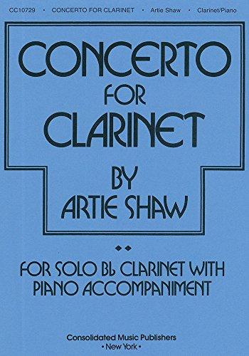 9780825623059: Artie Shaw - Concerto for Clarinet