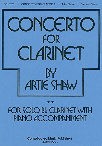 9780825623059: Artie Shaw - Concerto for Clarinet