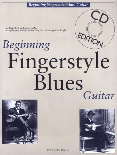 9780825625565: Beginning Fingerstyle Blues Guitar (Guitar Books)