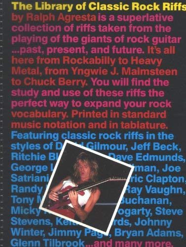 9780825625701: The Library of Classic Rock Riffs