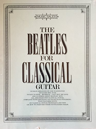 9780825626616: Beatles for Classical Guitar