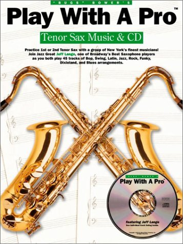 9780825627392: Tenor Sax (Play with a pro)