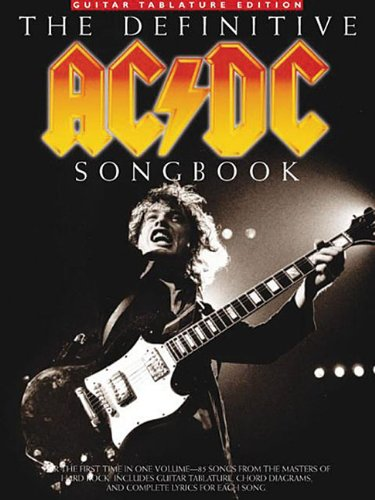9780825627835: The Definitive AC/DC Songbook Guitar Tablature Edition