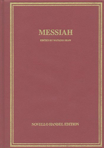 9780825627842: Messiah: Vocal Score Hardcover (Music Sales America)