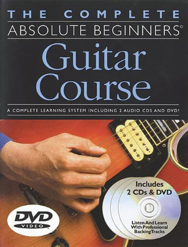 9780825627965: The Complete Absolute Beginners Guitar Course: Book/2-CD/DVD Pack