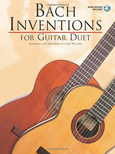 9780825628290: Bach Inventions For Guitar Duet