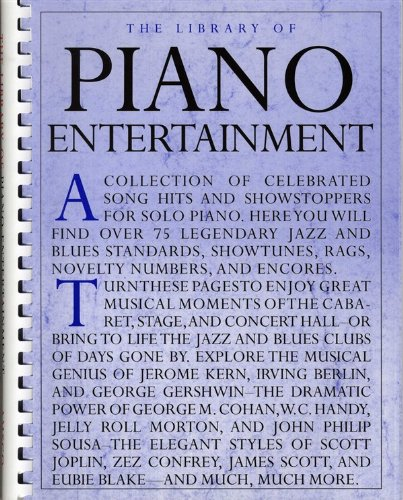 9780825629648: The Library Of Piano Entertainment