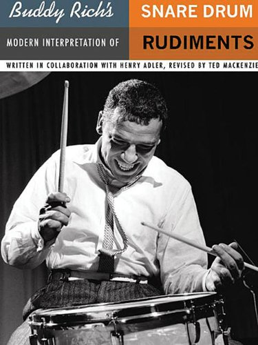 9780825629808: Buddy Rich's Modern Interpretation of Snare Drum Rudiments