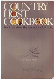 9780825631726: Country Host cookbook: Gracious traditional recipes for home entertaining