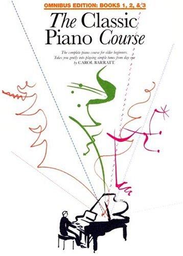 9780825633287: The Classic Piano Course: Books 1, 2 & 3