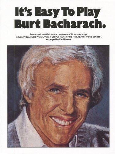 9780825633461: It's Easy To Play Burt Bacharach
