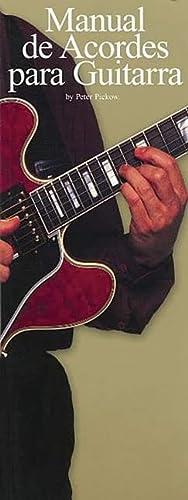 9780825633478: Manual de Acordes Para Guitarra