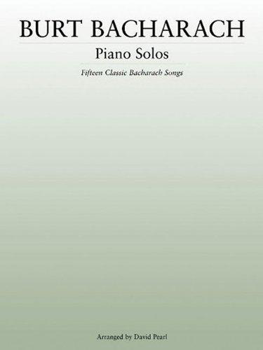9780825633522: Burt Bacharach: Piano Solos (Music Sales America)