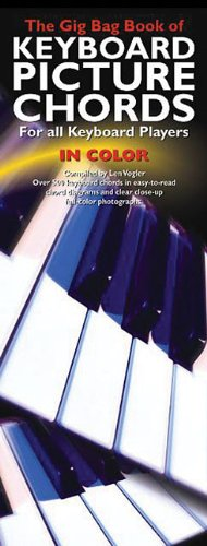 9780825633690: The Gig Bag Book of Keyboard Picture Chords in Color: For All Keyboard Players