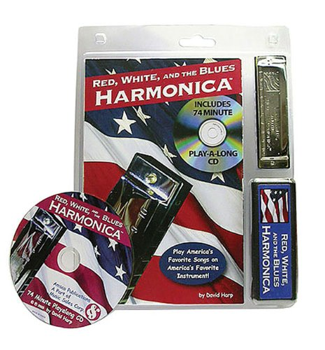 9780825634116: Red, White, and the Blues Harmonica: Book/CD/Harmonica Pack