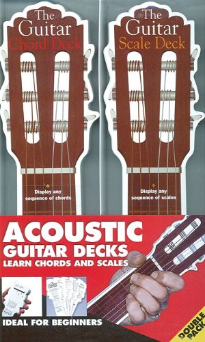 The Acoustic Guitar Chord Scale Decks By Music Sales Amsco Music