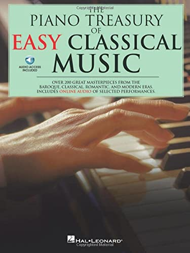 9780825634833: The Piano Treasury Of Easy Classical Music: Over 200 Great Masterpieces from the Baroque, Classical, Romantic, and Modern Eras (Book & CD)