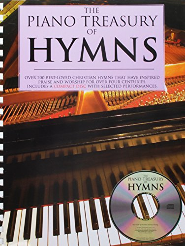 9780825634857: Piano Treasury Of Hymns: Over 200 Best-Loved Christian Hymns that Have Inspired Praise and Worship for Over Four Centuries (Book & CD)
