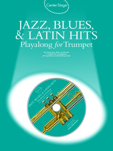 9780825635243: Jazz, Blues & Latin Hits Play-Along: Center Stage Series