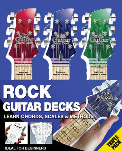 9780825635434: The Rock Guitar Deck: Chords, Method, Scales (Rock Guitar Decks)