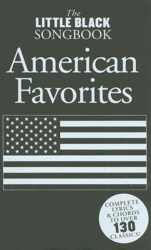 9780825635755: The Little Black Songbook: American Favorites