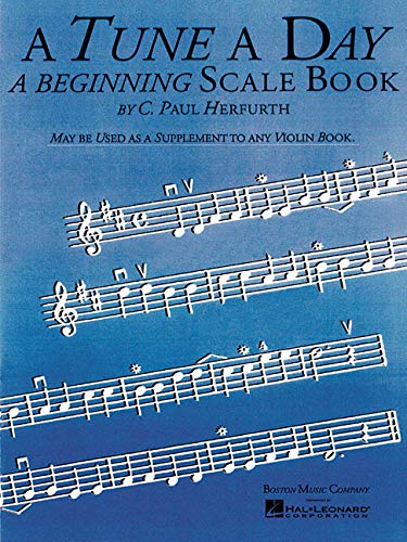 9780825635861: A Tune a Day: A Beginning Scale Book