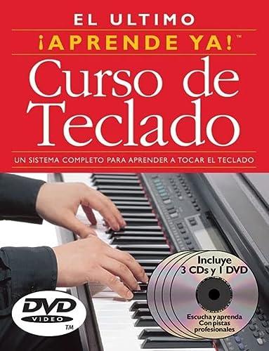 9780825636219: Aprende Ya! Curso de Teclado: 3 Books/3 CDs/1 DVD Boxed Set