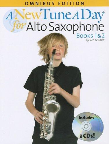 9780825636264: A New Tune A Day Alto Saxophone Omnibus Edition Books 1 & 2