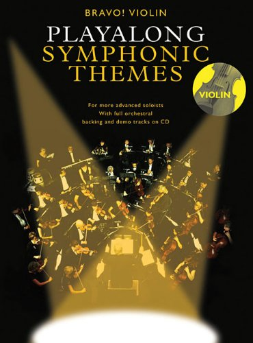 9780825636622: Bravo! Violin Playalong Symphonic Themes
