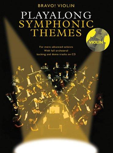 9780825636622: Playalong Symphonic Themes: Violin (Bravo!)