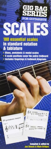 9780825636936: Scales for Guitarists: The Gig Bag Series