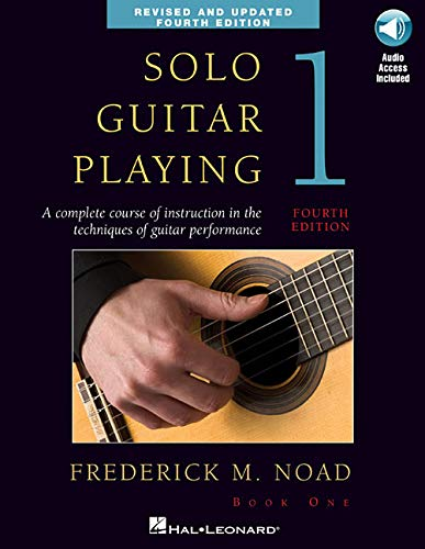 Solo Guitar Playing, Book 1: Noad, Frederick