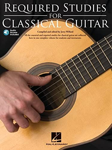 9780825637162: Required Studies for Classical Guitar