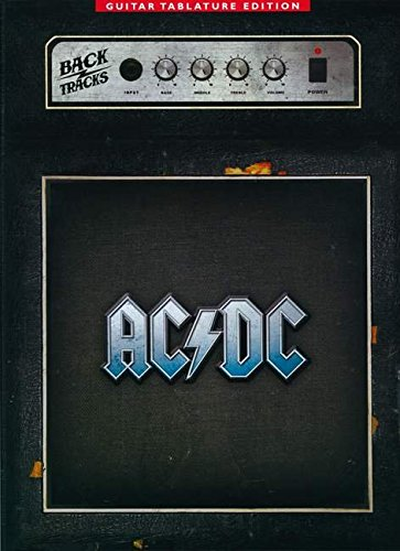 9780825637377: AC/DC BACKTRACKS - GUITAR TAB EDITION (Guitar Tablature Editions)
