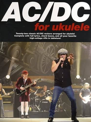9780825637421: AC/DC for Ukulele (Music Sales America)