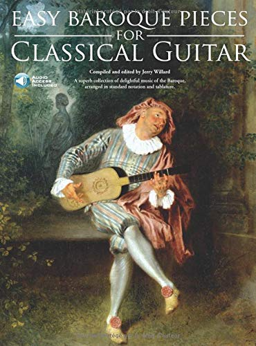 9780825637438: Easy Baroque Pieces for Classical Guitar (Book & CD)