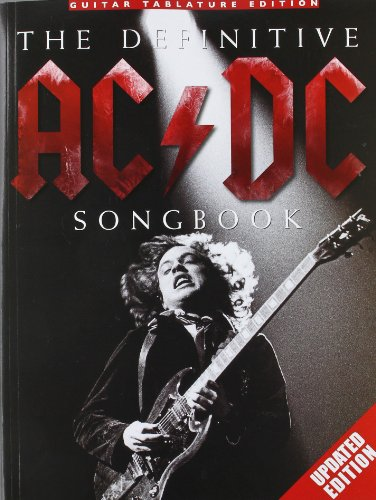 9780825637520: Ac/Dc Definitive Songbook Tab Updated Edition