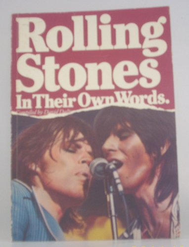 9780825639265: Rolling Stones: In Their Own Words
