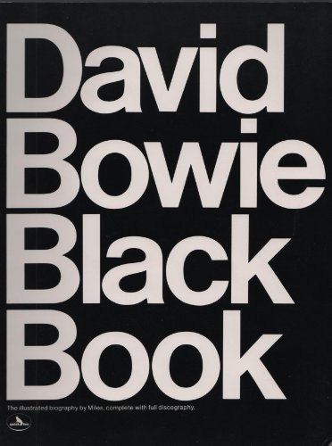 9780825639586: David Bowie Black Book