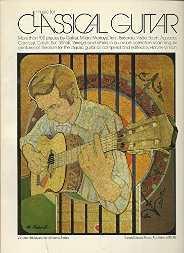 Music for Classical Guitar: Volume 59 / Music for Millions Series: Vinson, Harvey
